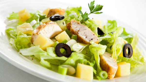 salat iz zeleni
