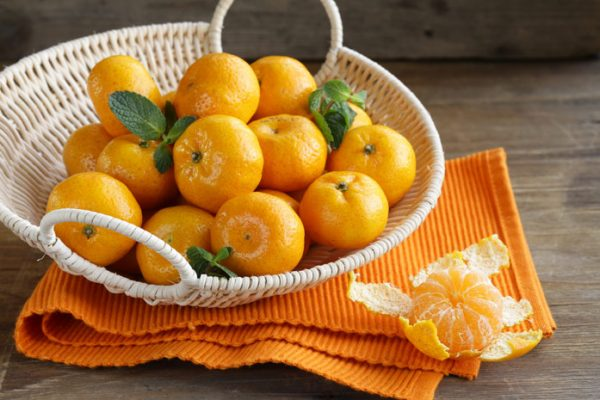 frukty mandariny
